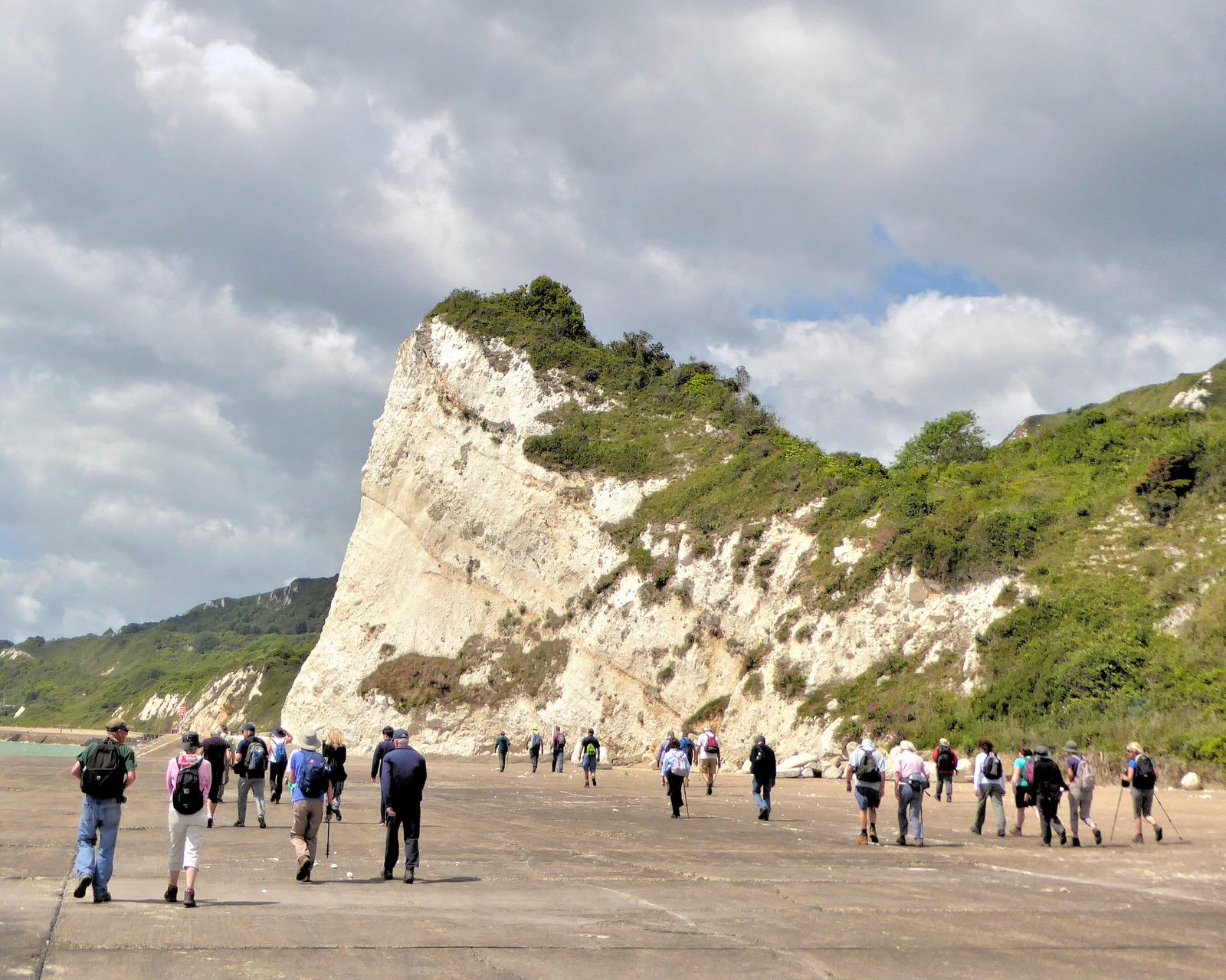 white cliffs photo